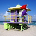 12th Street Miami Beach Lifeguard Station