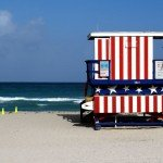 13th Street Miami Beach Lifeguard Station