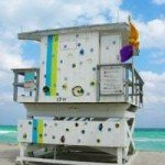 17th Street Miami Beach Lifeguard Station