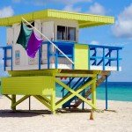 1st Street Miami Beach Lifeguard Station