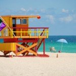 3rd Street Miami Beach Lifeguard Station