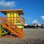 8th Street Miami Beach Lifeguard Station