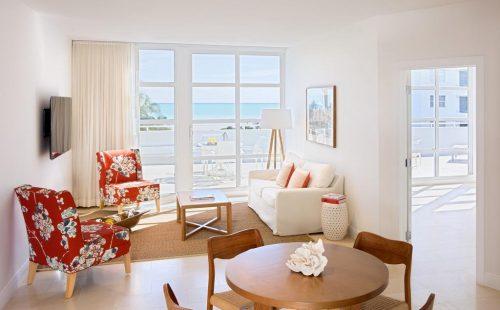 Bentley Hotel Room Balcony View
