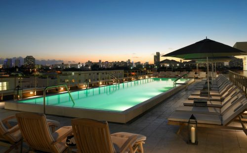 Betsy Hotel Rooftop Pool