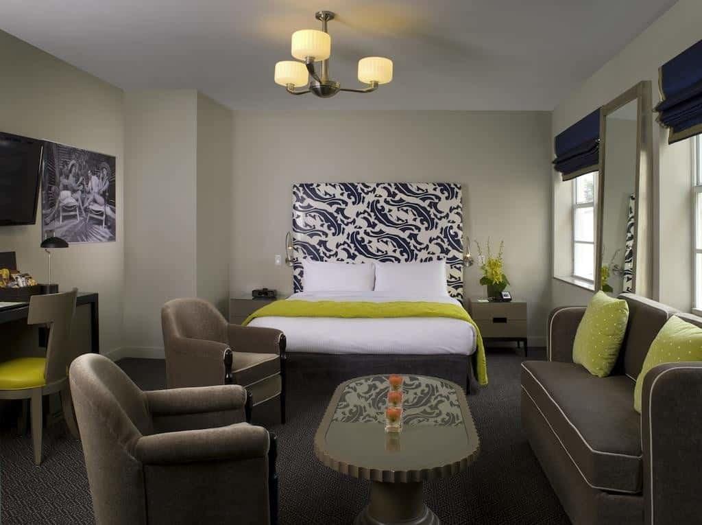breakwater hotel room junior suite