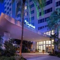 Confidante Hotel Exterior Night