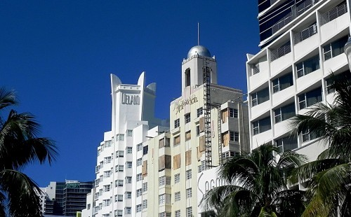 Delano Hotel Sidewalk