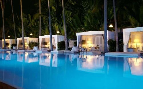 Delano Pool Cabanas