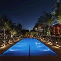 Edition Hotel Pool Night