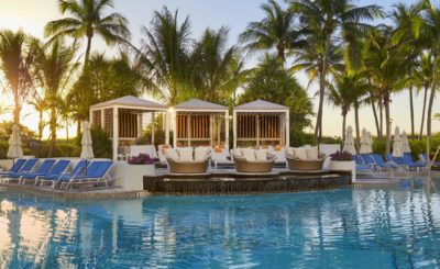 Loews Hotel Pool and Private Cabanas