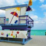 18th Street Miami Beach Lifeguard Station