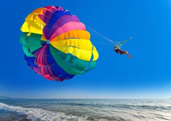 Parasailing in Miami Beach