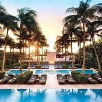 Setai Hotel Pool