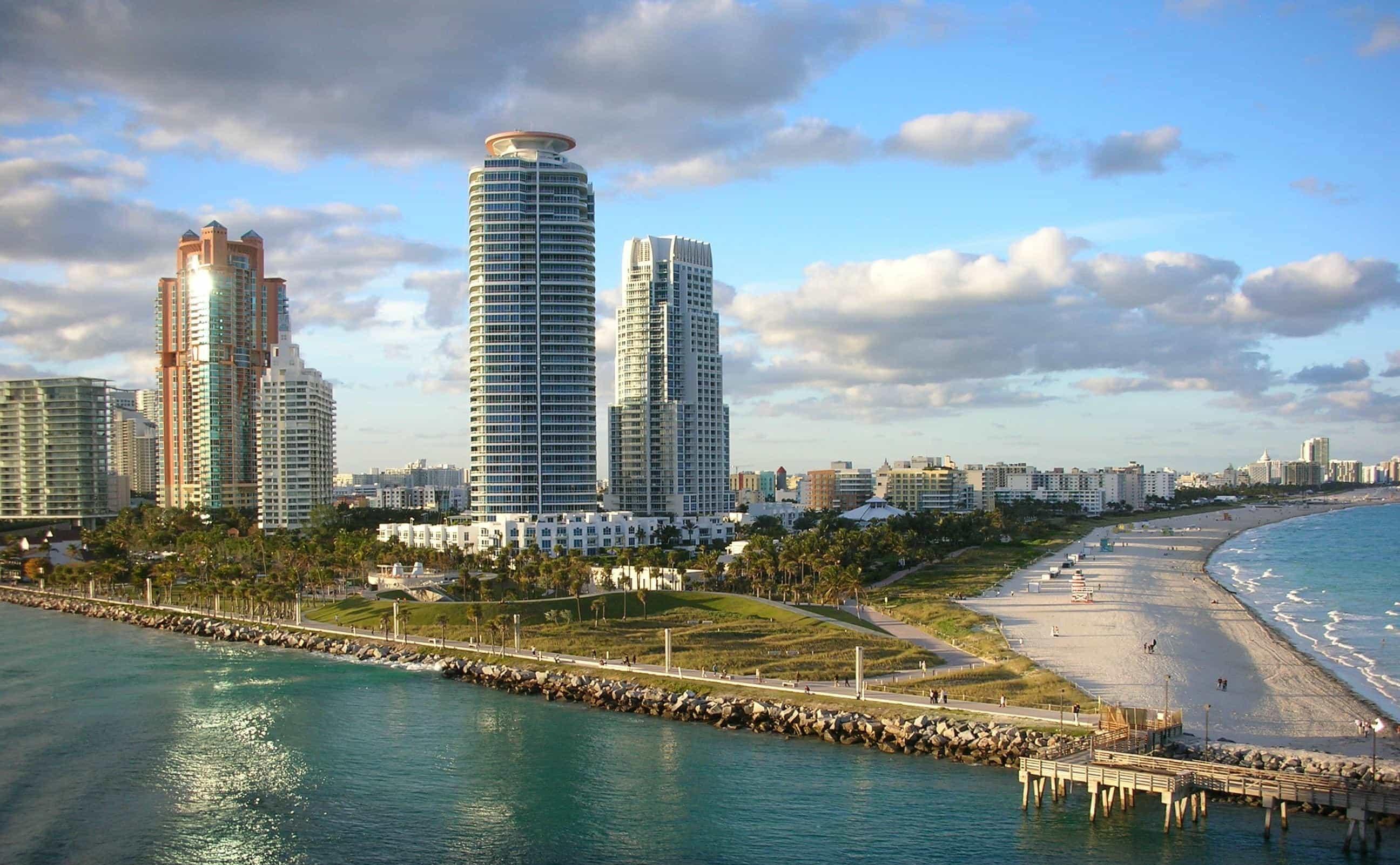 South Beach Beachfront Hotels